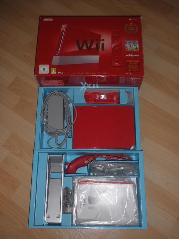 nintendo wii konsole 39 jubil ums pak 25 th anniversary 39 in. Black Bedroom Furniture Sets. Home Design Ideas