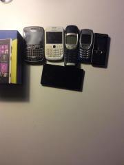 Nokia, Blackberry, Sony,