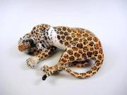 Nymphenburg Porzellanfigur, Leopard,
