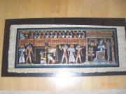 Original ägyptisches Papyrusbild