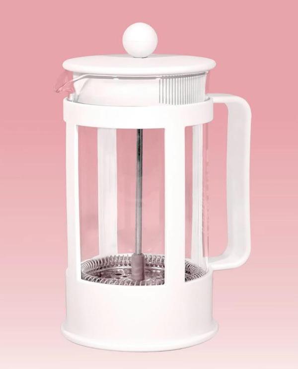 original bodum kaffeebereiter f r 8 tassen neu wei french press kaffeekanne in erftstadt. Black Bedroom Furniture Sets. Home Design Ideas