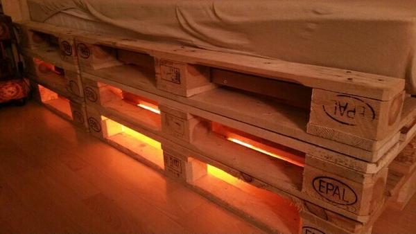 Paletten bett in Solingen - Betten kaufen und verkaufen über ...