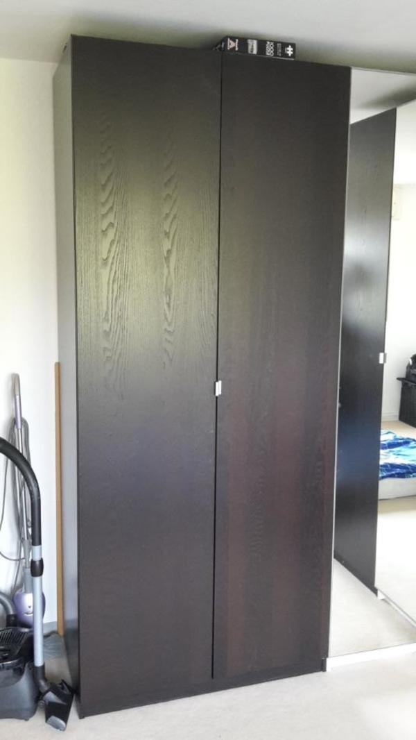 PAX Kleiderschrank mit Eckteil abzugeben in Karlsruhe   IKEA Möbel