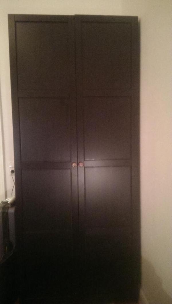 kleiderschrank schwarz kaufen gebraucht und g nstig. Black Bedroom Furniture Sets. Home Design Ideas
