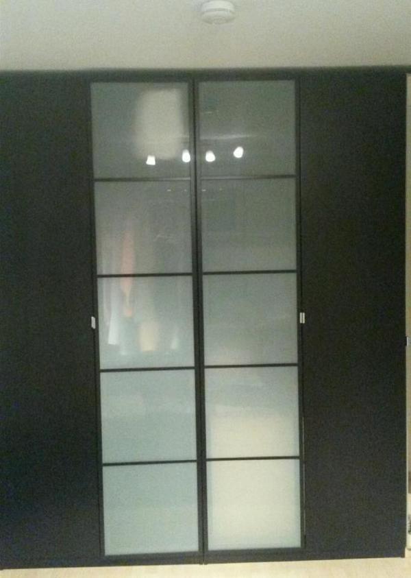 pax schwarzbraun kaufen gebraucht und g nstig. Black Bedroom Furniture Sets. Home Design Ideas