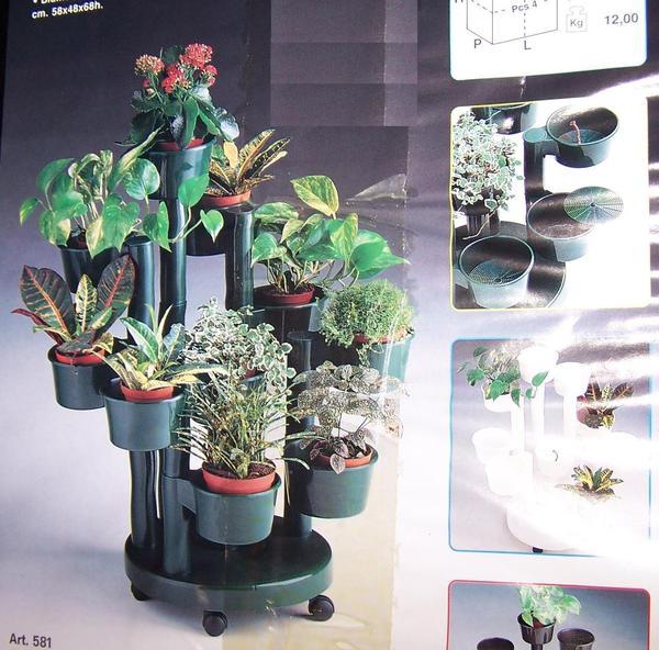 pflanzenst nder botanika mit bew sserungssystem ovp. Black Bedroom Furniture Sets. Home Design Ideas