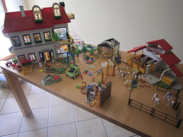 Playmobil haus 3965 zusatzerweiterung 7337 reiterhof g rtnerei in kirchheim spielzeug lego - Playmobil haus schlafzimmer ...