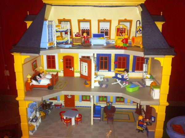 Playmobil haus in verl spielzeug lego playmobil kaufen for Playmobil haus schlafzimmer