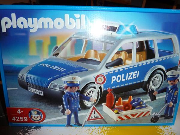 playmobil polizeiauto 4259 neu in erlangen spielzeug. Black Bedroom Furniture Sets. Home Design Ideas