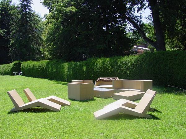 polyrattan designer gartenm bel sitzgruppe mit liegen. Black Bedroom Furniture Sets. Home Design Ideas