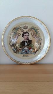 Porzellanteller König Ludwig