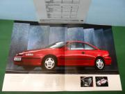 Poster - Opel Calibra -