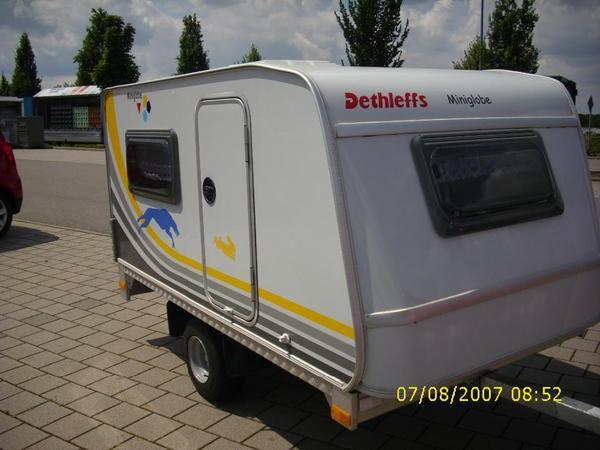 preisreduzierung miniwohnwagen dethleffs miniglobe kids camp in dossenheim wohnwagen kaufen. Black Bedroom Furniture Sets. Home Design Ideas