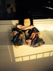 Puppe aus Stoff