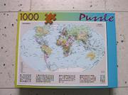 Puzzle: ``Politische Weltkarte``,