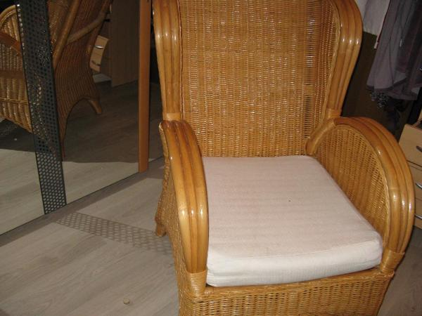 rattan ohrensessel in n rnberg polster sessel couch. Black Bedroom Furniture Sets. Home Design Ideas