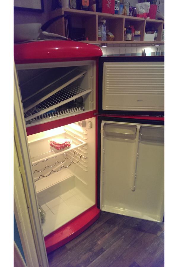 Retro Vintage amerikanisch Kühlschrank wie Smeg in Fürth  ~ Kühlschrank Amerikanisch