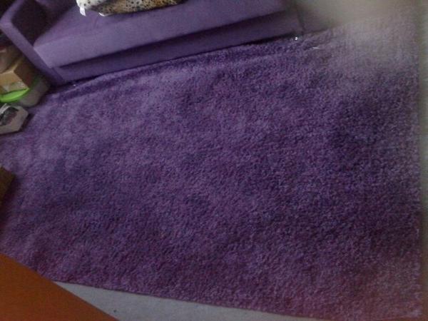 teppich lila  neu und gebraucht kaufen bei dhd24com