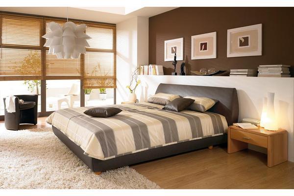 ruf tagesdecke f r ruf bett 180 x 180 cm braun creme wei in schw bisch gm nd matratzen rost. Black Bedroom Furniture Sets. Home Design Ideas