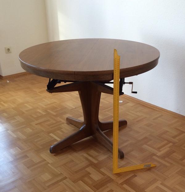 Tisch rund neu und gebraucht kaufen bei for Runder tisch ausziehbar