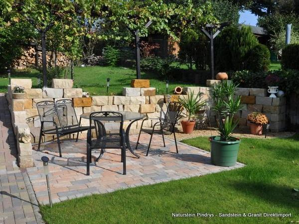 sonstiges f r den garten balkon terrasse sandstein. Black Bedroom Furniture Sets. Home Design Ideas