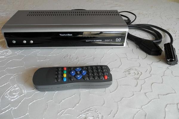 satelliten empf nger digital technisat digit d in stutensee antenne sat receiver kaufen und. Black Bedroom Furniture Sets. Home Design Ideas
