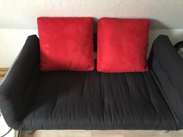 schlafcouch rot gebraucht kaufen nur 3 st bis 70 g nstiger. Black Bedroom Furniture Sets. Home Design Ideas