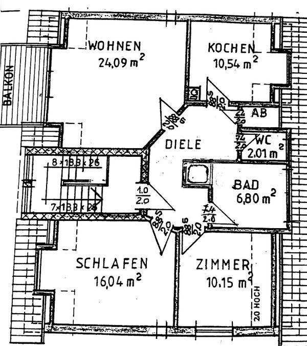 Schöne 3 ZKB in Rüsselsheim Königstädten Vermietung 3