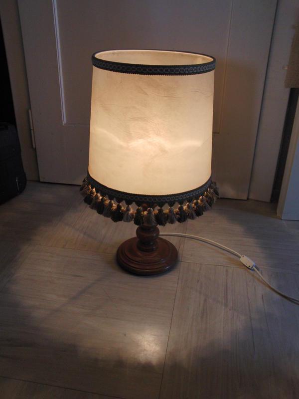 sch ne alte schirmlampe in n rnberg lampen kaufen und verkaufen ber private kleinanzeigen. Black Bedroom Furniture Sets. Home Design Ideas