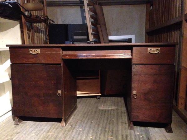 Schreibtisch computer neu und gebraucht kaufen bei for Schreibtisch dunkelbraun