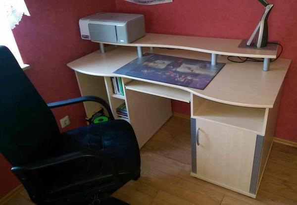 ausziehbarer schreibtisch neu und gebraucht kaufen bei. Black Bedroom Furniture Sets. Home Design Ideas