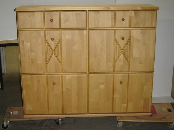 massiv schuhschrank neu und gebraucht kaufen bei. Black Bedroom Furniture Sets. Home Design Ideas