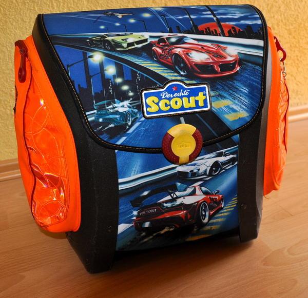 schulranzen scout race in winnenden taschen koffer. Black Bedroom Furniture Sets. Home Design Ideas