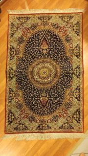 Seide Teppich 1
