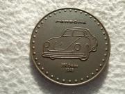 Seltene Porsche-Kalendermünze