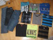 Shirts und Jeans für Jungen Biete hier ein Paket gut erhaltene Jungenbekleidung: 3 x Jeans (grau, blau, schwarz) Gr. 2x 164 , 1x 170. Sowie 6 Langarmshirts Gr. 158/164 und 3 ... 8,- D-76596Forbach Heute, 15:36 Uhr, Forbach - Shirts und Jeans für Jungen Biete hier ein Paket gut erhaltene Jungenbekleidung: 3 x Jeans (grau, blau, schwarz) Gr. 2x 164 , 1x 170. Sowie 6 Langarmshirts Gr. 158/164 und 3