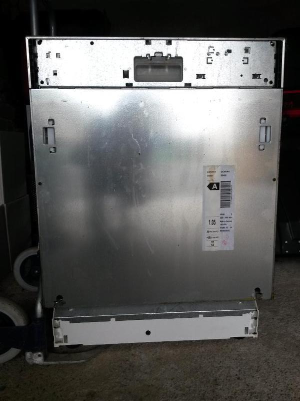 Siemens spulmaschine typ se64561 07 vollintegriebar for Spülmaschine vollintegrierbar