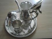 Silber Kaffeeset zu