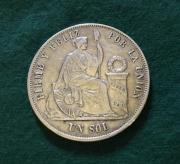 Silbermünze 1 Sol