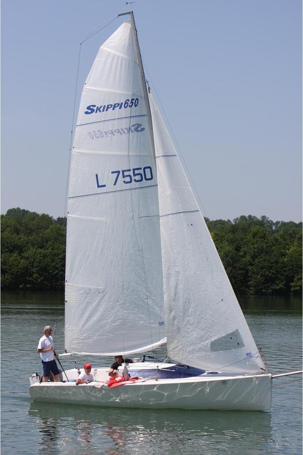 Skippi 650 racer segelboote