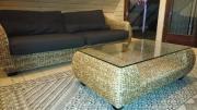 Sofa aus Kubu-