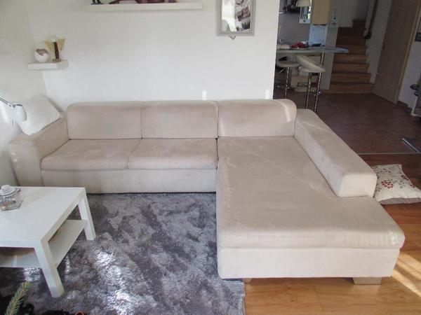 Sofa ecksofa sofaecke couch mit longchair in zolling for Polster ecksofa