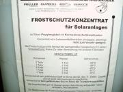 Solarflüssigkeit Frostschutzkonzentrat Solarfocus