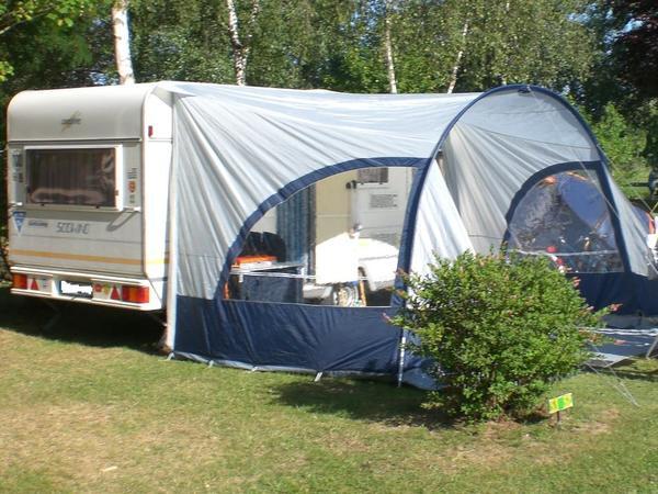 sonnendach f r wohnwagen hypercamp sunny 400 zu verkaufen. Black Bedroom Furniture Sets. Home Design Ideas