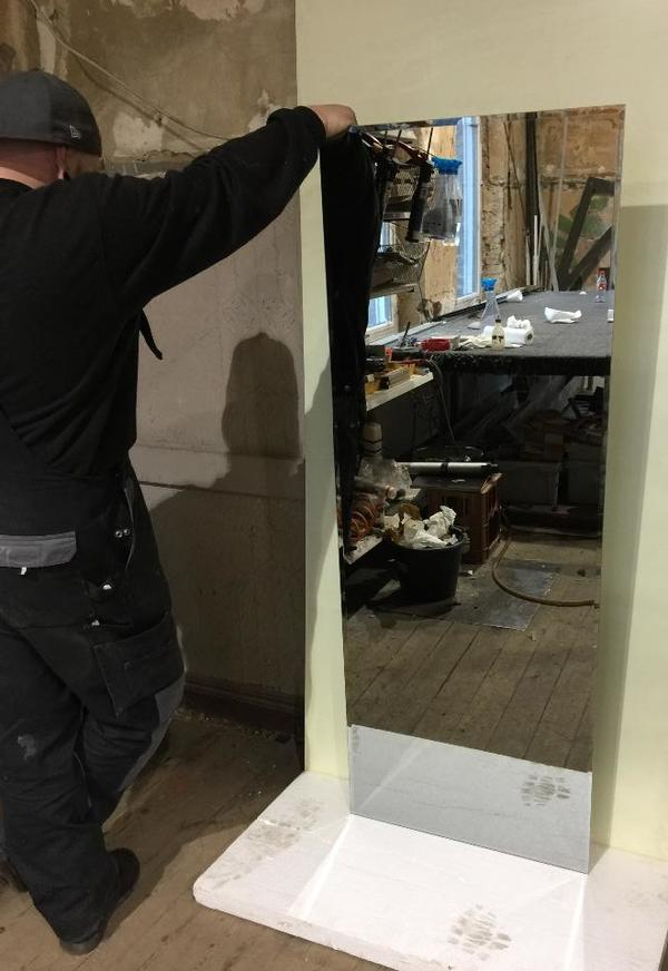 spiegel mit facettenschliff 60x160cm in dortmund dekoartikel kaufen und verkaufen ber private. Black Bedroom Furniture Sets. Home Design Ideas