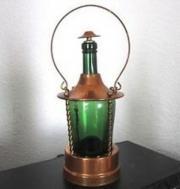 Spieluhr Laterne Flasche