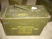 Stabile Munitionsbox aus