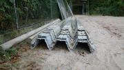 Stahl - Trapezprofilbleche gebraucht