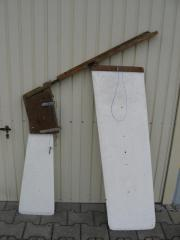 Steckschwert und Ruder