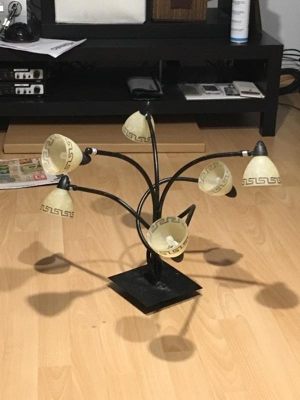 stylische lampe kaufen gebraucht und g nstig. Black Bedroom Furniture Sets. Home Design Ideas